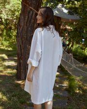 keten-gomlek-elbise-tek-beden---beyaz-509372