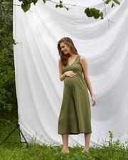 kisa-kollu-hamile-tulum-s---khaki-yesil-599324