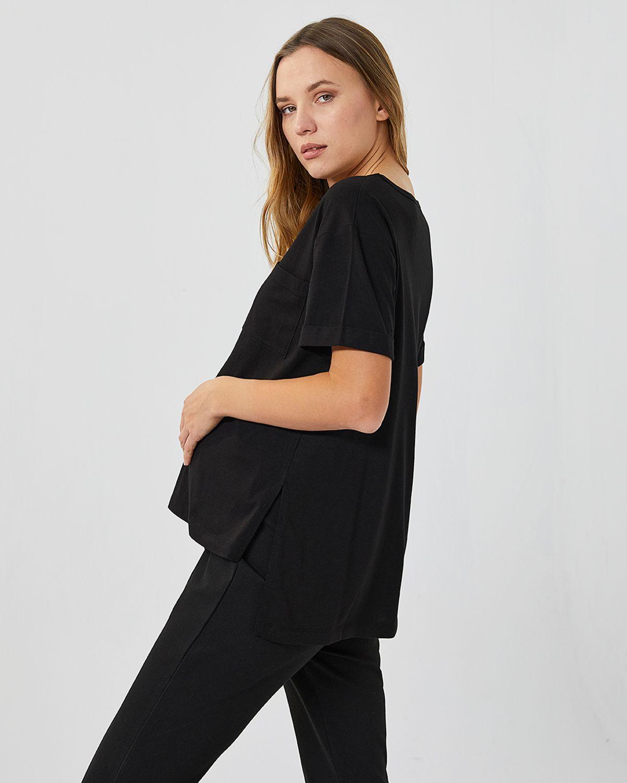 434167-v-yaka-t-shirt-l---siyah